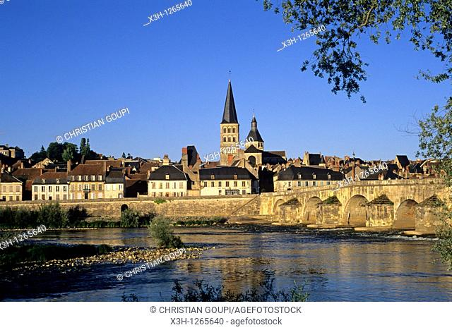 La Charite-sur-Loire, Nievre department, region of Burgundy, center of France, Europe