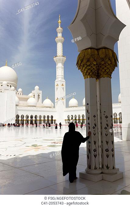 Sheikh Zayed Mosque. Abu Dhabi. UAE