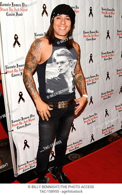 "Jimmy DeANDA arrives at the 3rd Annual """"Bowl 4 Ronnie"""" Celebrity Bowling Tournament, benefiting the """"Ronnie James Dio Stand Up and Shout Cancer Fund fund""""..."