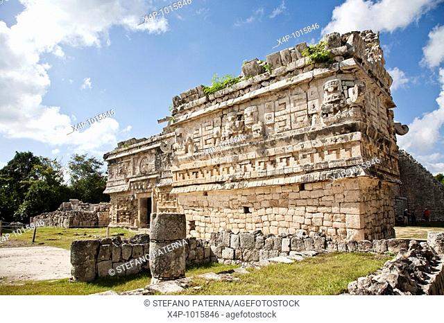 The Church is one of the most beatiful and best preserved buildings at Chichen Itza  Chichen Itza Archaeological Site Yucatan Mexico
