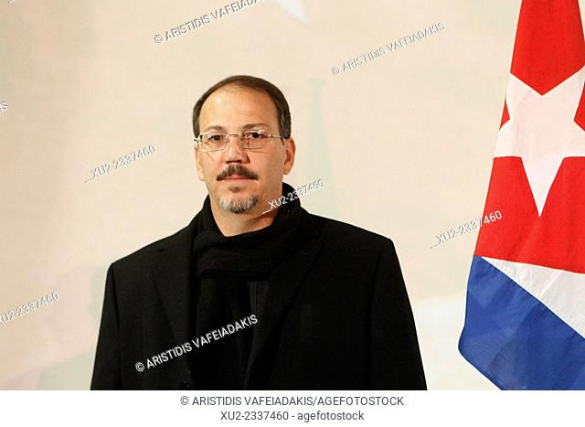 The son of the President of Cuba Raul Castro and Fidel Castro's nephew, Alejandro Castro Espin visits Greece this week to attend the Cuban Cinema Festival...