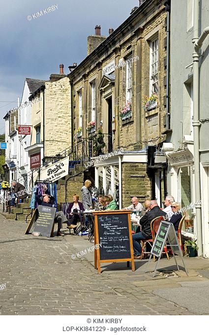 Cafes in Skipton town centre