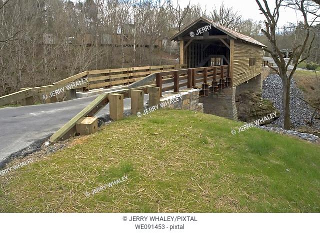 Harrisburg Covered Bridge, Sevier County, Tennessee