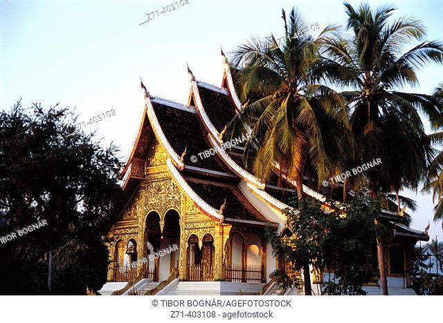 Royal Palace, Haw Pha Bang Pavilion. Luang Prabang. Laos