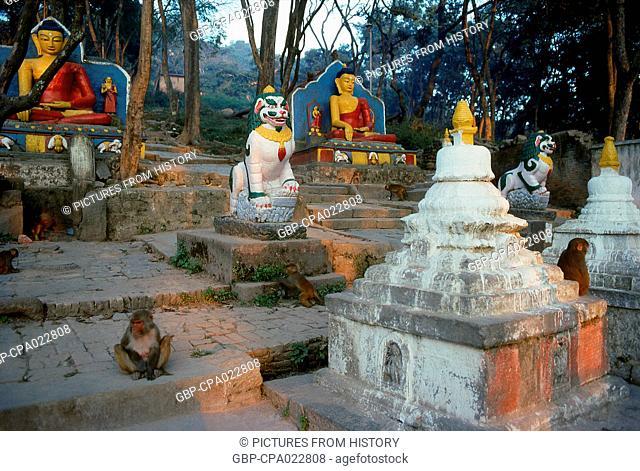Nepal: Swayambhunath (Monkey Temple), Kathmandu Valley