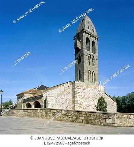 Church, Mombuey, Zamora province, Castile-Leon, Spain