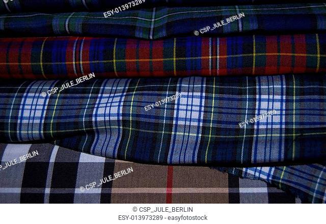 Textile for kilts
