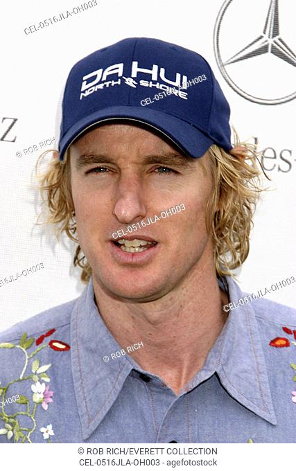 Owen Wilson at arrivals for 2005 Mercedes-Benz Polo Challenge, The Bridgehampton Polo Club BPC, Bridgehampton, NY, July 16, 2005