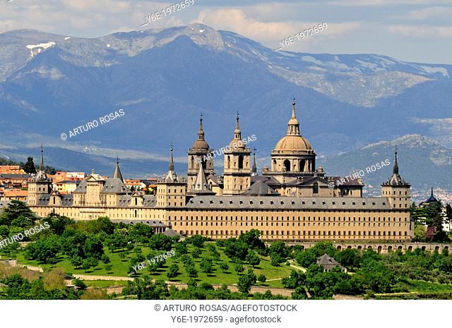 From La Herreria. San Lorenzo de El Escorial, Madrid. Spain