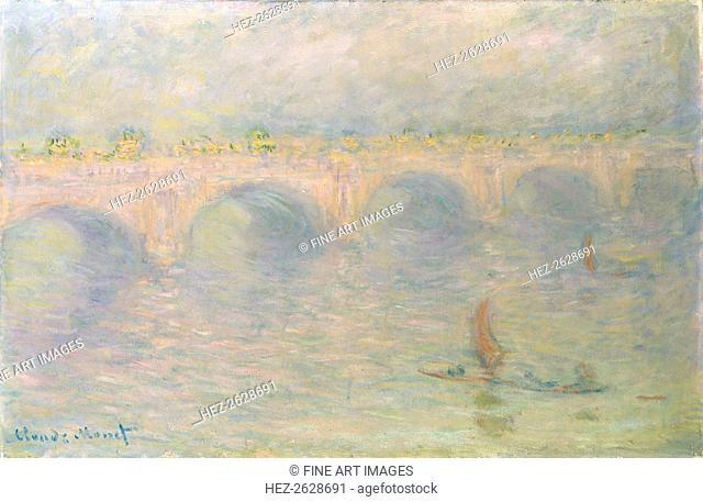 Waterloo Bridge, Sunlight Effect, 1899-1901. Artist: Monet, Claude (1840-1926)