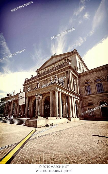 Germany, Lower Saxony, Hannover, State opera