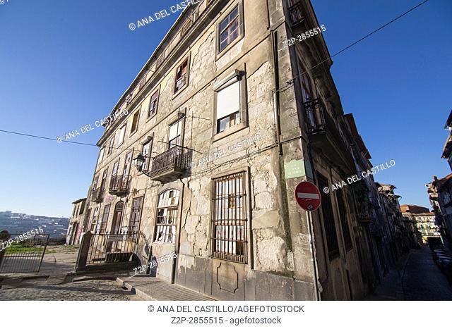 Old building in Porto Portugal