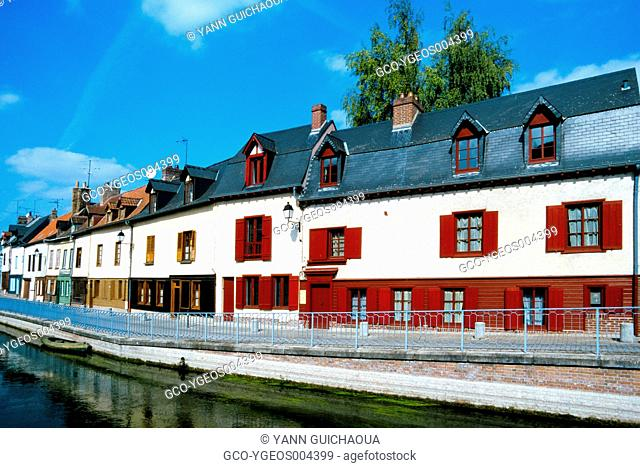 DISTRICT SAINT LEU, AMIENS, SOMME, PICARDY, FRANCE