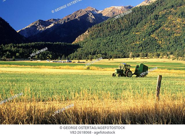 Ranchland north of Enterprise, Wallowa County, Oregon
