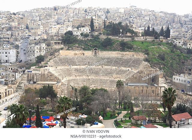 Roman theatre 2 cent., Amman, Jordan