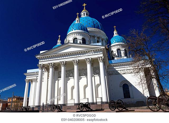 Trinity Izmailovo Cathedral, St. Petersburg, Russia