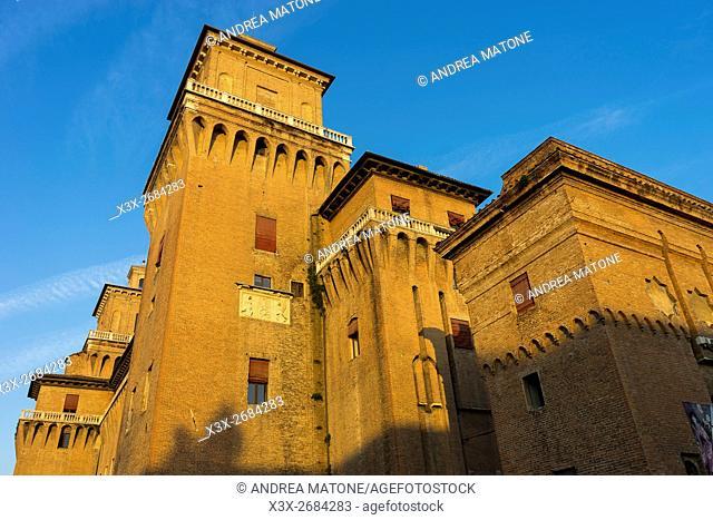 Estense castle. Ferrara, Italy