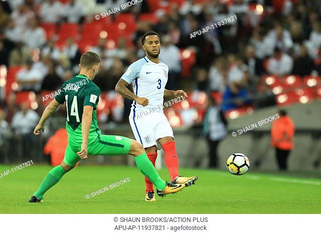 2017 FIFA World Cup Qualifcation England v Slovenia Oct 5th. 5th October 2017, Wembley Stadium, London, England; FIFA World Cup Qualification