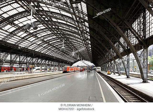Bahnsteighalle von 1894