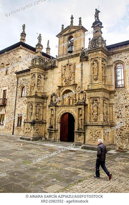 Facade of the Sancti Spiritus University, Oñati, Basque Country