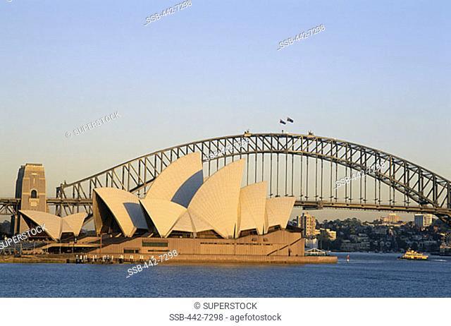 Sydney Opera House, Sydney Harbour Bridge, Sydney, New South Wales, Australia