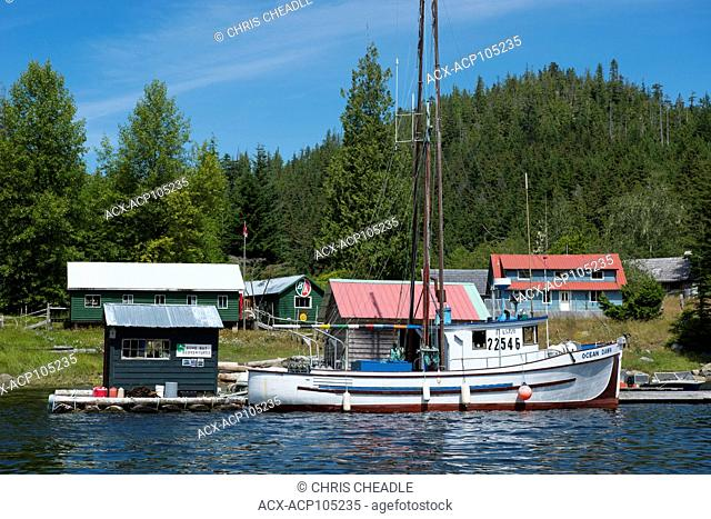 Billy Proctor's museum in the Broughton Archipelago, off northern Vancouver Island, British Columbia, Canada
