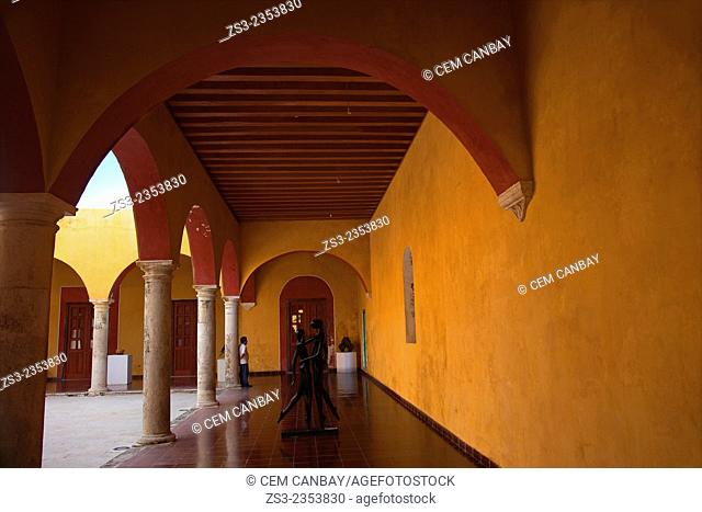 Interior of San Francisco Church, Campeche State, Yucatan Province, Mexico, Central America