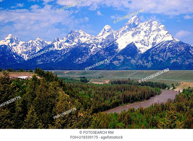snake river overlook wyoming grand teton park