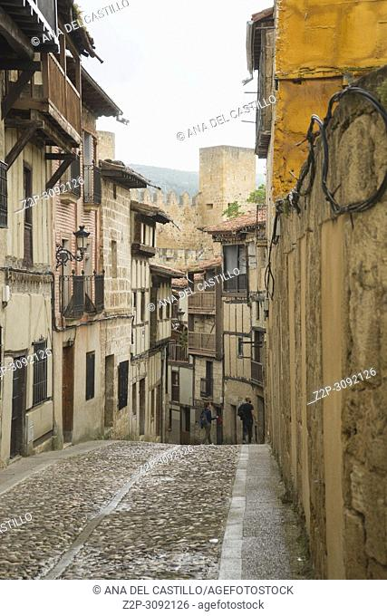 Frias medieval town of Burgos province, one of the most beautiful villages in Spain