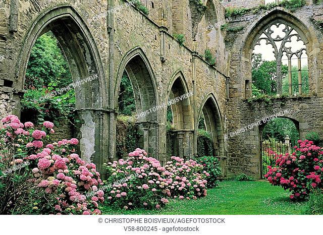 Beauport abbey. Côtes-d'Armor, Bretagne, France