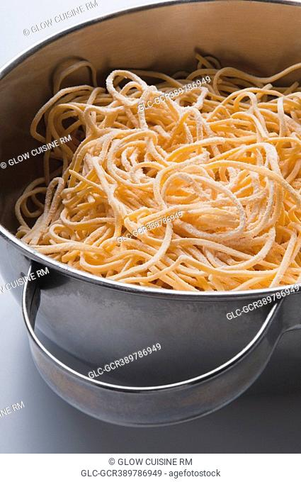 Close-up of spaghetti