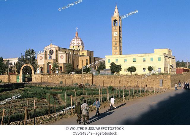 Cathedral. Adigrat. Ethiopia