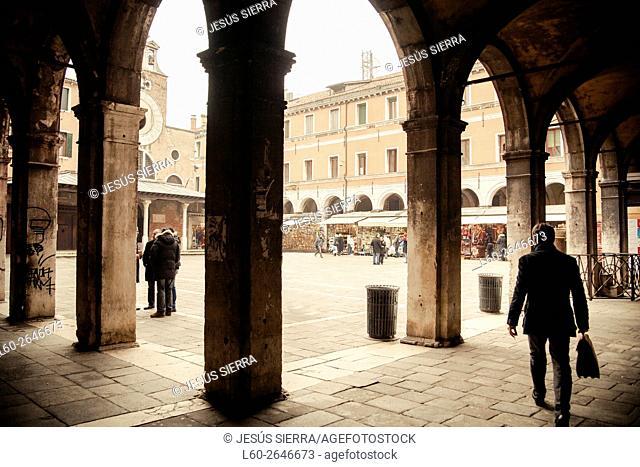 Rialto, Venice, Veneto, Italy