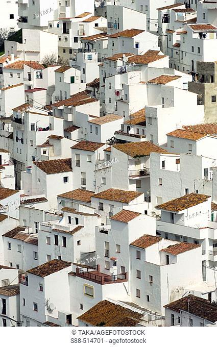 Casares. Málaga province. Andalucia. Spain