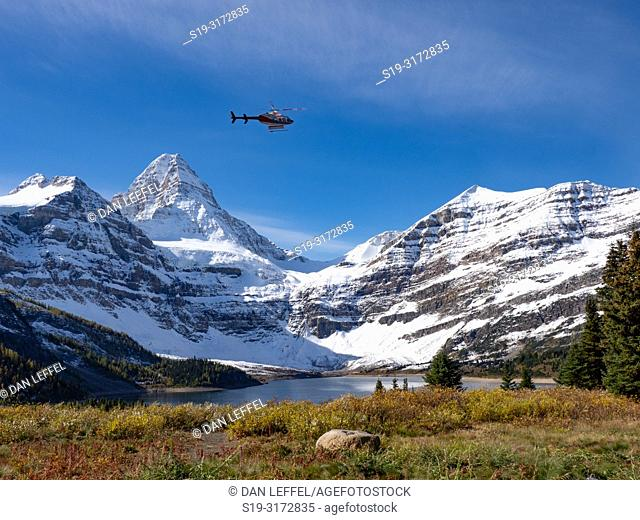 Canadian Rockies. Assiniboine Provincial Park. Mt Assiniboine