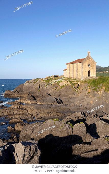Chapel of Santa Catalina, Mundaka, Bizkaia, Spain