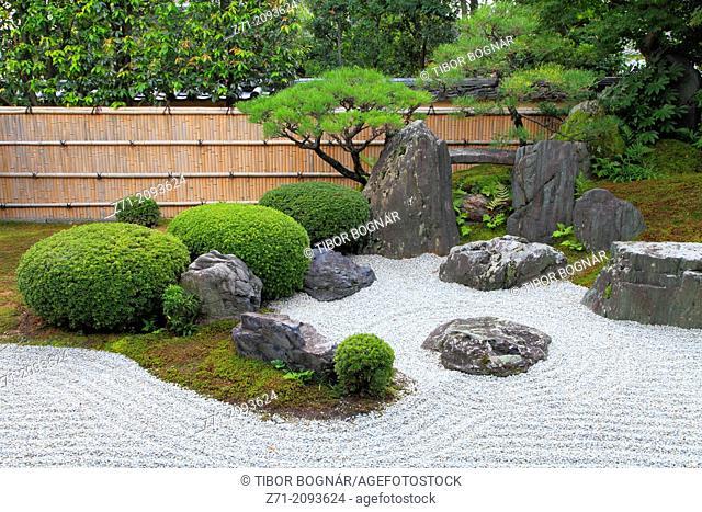 Japan, Kyoto, Daitokuji Temple, Kourin-in, garden,