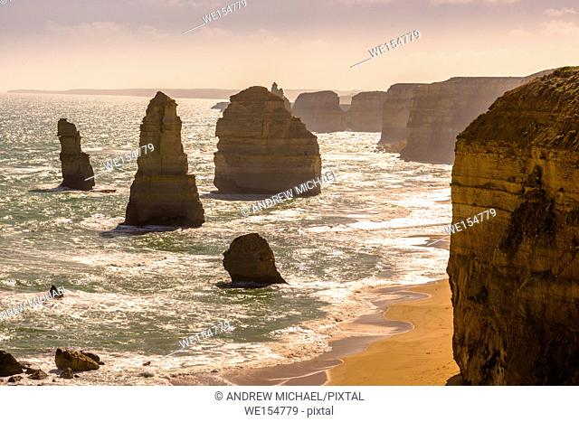 The Twelve Apostles off the Great Ocean Road, Australia