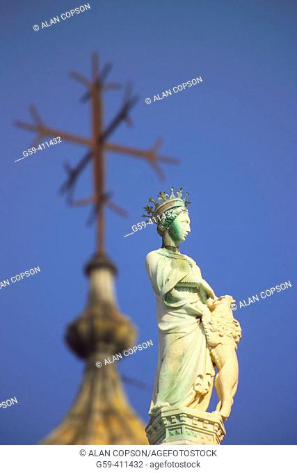 Italy. Venice. St Mark's Square. St. Mark's Basilica
