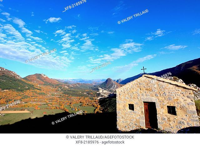 Village of Briançonnet, Alpes-Maritimes, Parc régional des Préalpes d'Azur, Préalpes d'Azur regional park, Provence-Alpes-Côte d'Azur, France