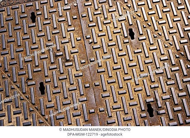 Manhole ; London ; U.K. United Kingdom England