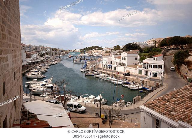 Port of Ciutadella, Menorca, Spain