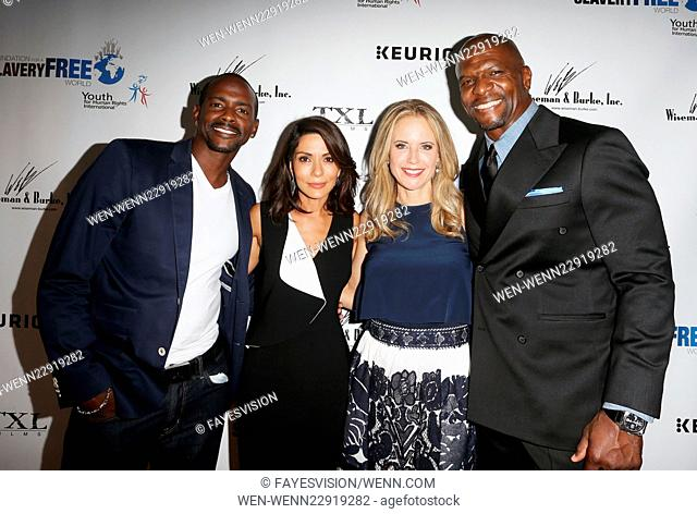 The Human Rights Hero Awards 2015 presented by Marisol Nichols' Foundation for a Slavery Free World and Youth for Human Rights International at Beso Featuring:...