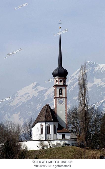 Church in Golling, Ortsteil Torren, Salzburger Land, Austria