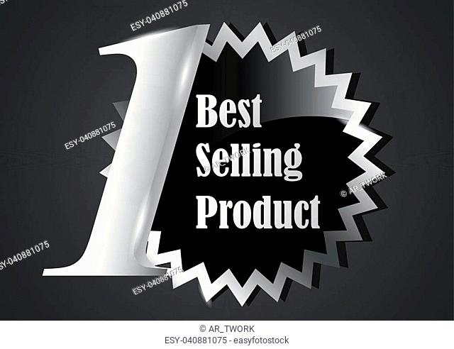 design element of label for marketing productai and eps10