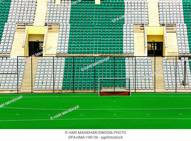 Dhyanchand hockey stadium, new delhi, india, asia