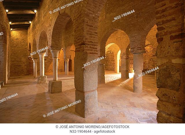Almonaster la Real, Mosque, Sierra de Aracena Y Picos de Aroche Natural Park, Huelva province, Andalusia  Spain