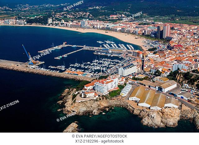 Port of Palamos. Yatch Club of Costa Brava