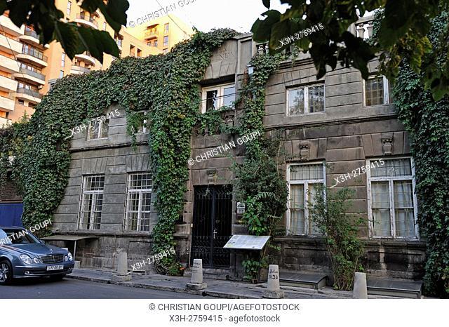 Villa Delenda hotel, Yeznik Koghabatsi street, Yerevan, Armenia, Eurasia