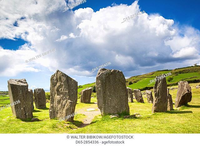 Ireland, County Cork, Drombeg, Drombeg Stone Circle, 5th century